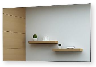 spiegel ohne beleuchtung individuell gefertigt online kaufen. Black Bedroom Furniture Sets. Home Design Ideas