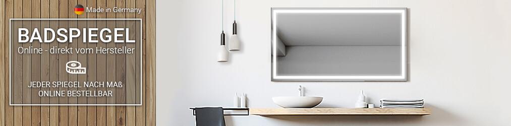 badspiegel in bester qualit t direkt beim hersteller kaufen. Black Bedroom Furniture Sets. Home Design Ideas