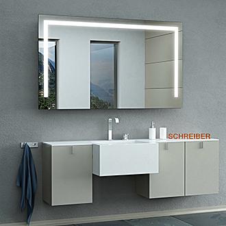 badspiegel mit beleuchtung kaufen ratgeber. Black Bedroom Furniture Sets. Home Design Ideas