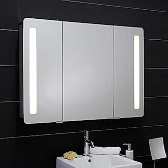 spiegelschrank f rs bad in bester qualit t online kaufen. Black Bedroom Furniture Sets. Home Design Ideas