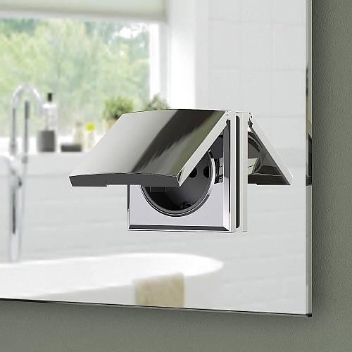 Badezimmerspiegel Mit Steckdose.Spiegel Mit Steckdose Kaufen Schreiber Design