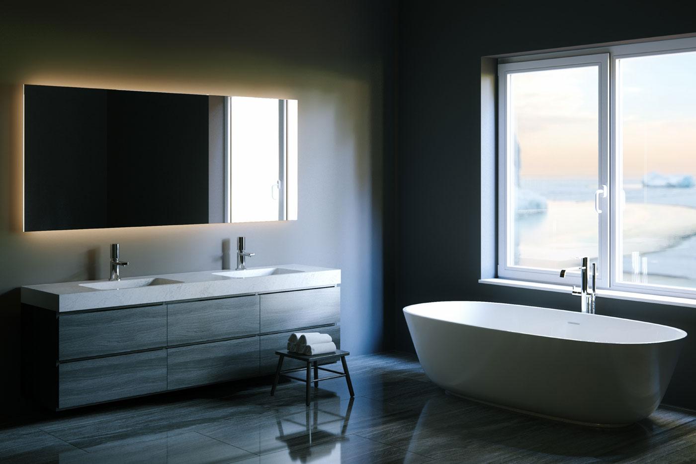 Badezimmerspiegel Gross.Spiegel Online Kaufen Vom Hersteller Massanfertigung