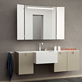 Badezimmerspiegel Dreiteilig.Klappspiegel Individuell Konfigurieren Jetzt Online