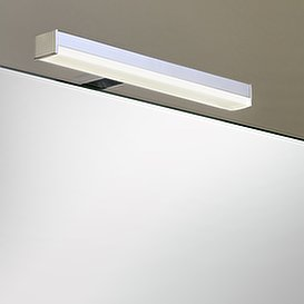 led spiegelleuchte amare 50 kristallspiegel. Black Bedroom Furniture Sets. Home Design Ideas