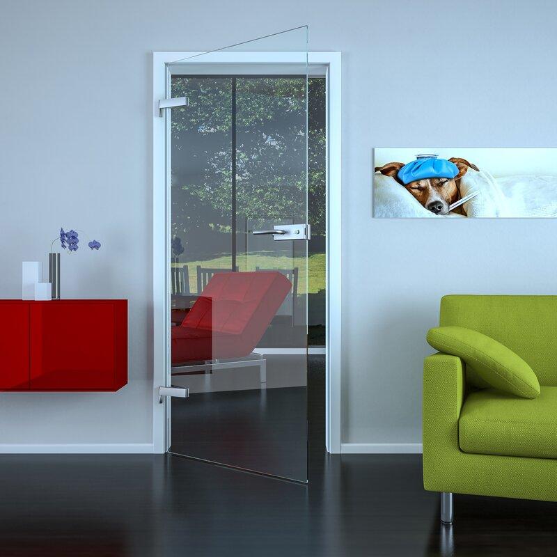 Schreiber Lichtdesign glastür klar einfache glastür in hochwertiger verarbeitung nach
