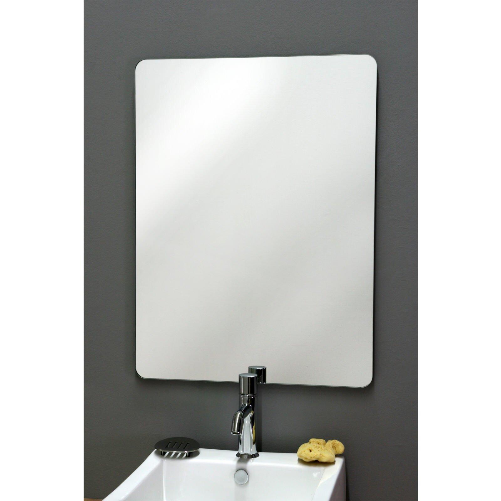 Badezimmerspiegel Basic Soft Spiegel Mit Runden Ecken