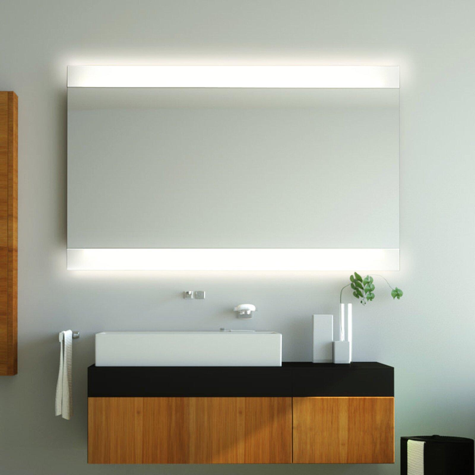 badspiegel phobos td duoled beleuchtung oben unten 149 00. Black Bedroom Furniture Sets. Home Design Ideas