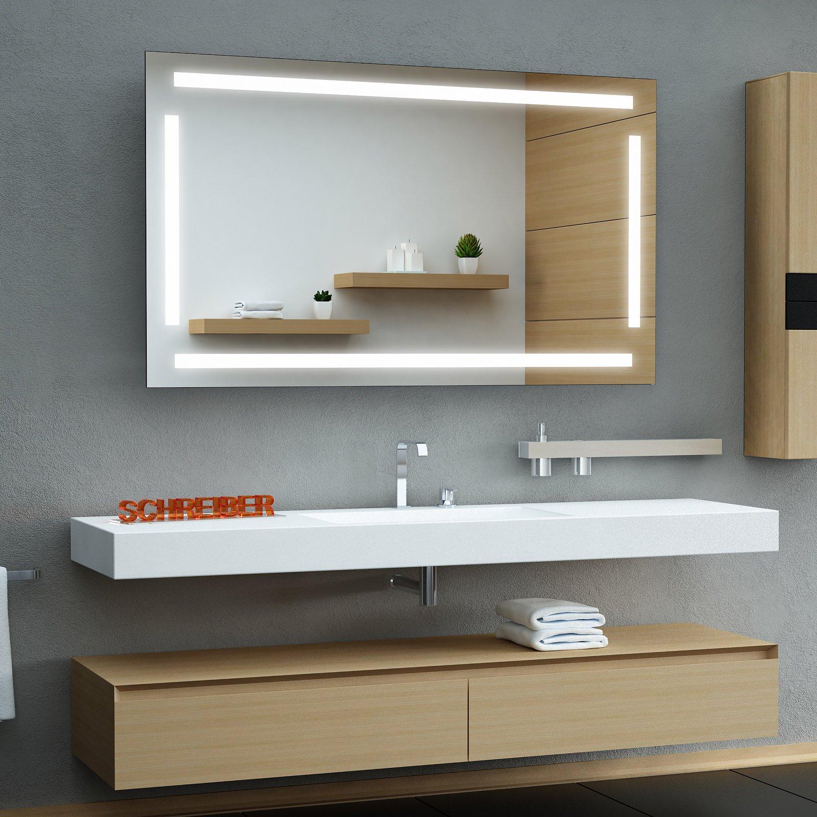comfort ledplus ts2 spiegel led vom feinsten. Black Bedroom Furniture Sets. Home Design Ideas