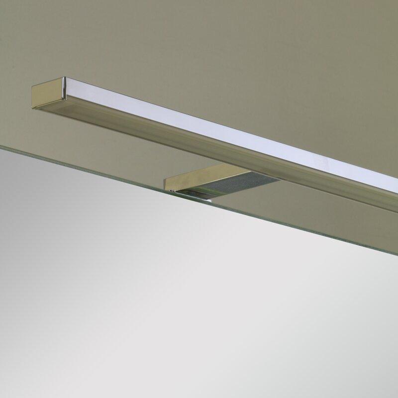 spiegelleuchten f rs bad schick hell und schnell montiert. Black Bedroom Furniture Sets. Home Design Ideas
