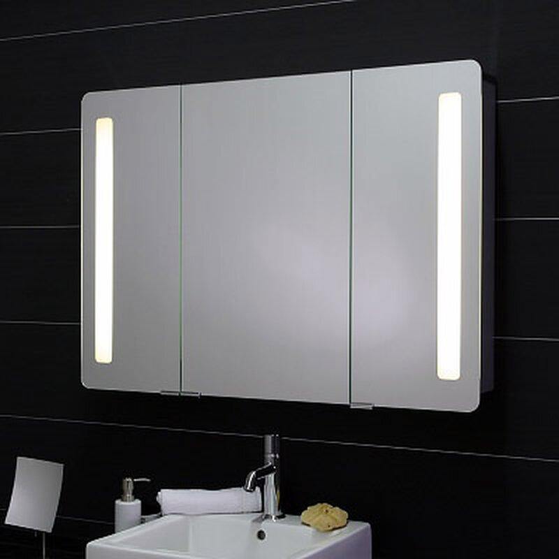 3türiger Spiegelschrank beleuchtet HSK | jetzt kaufen, 922,00 €