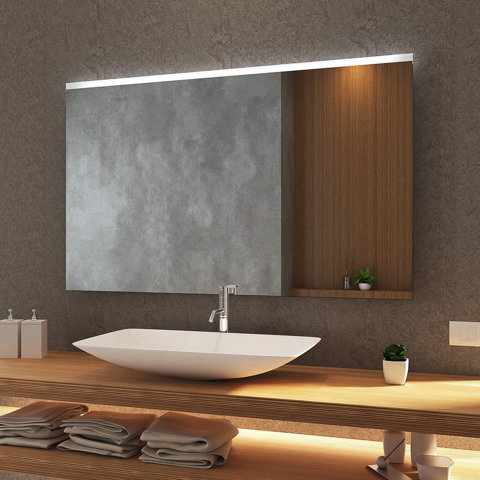 Badezimmerspiegel Mit Beleuchtung.Badspiegel Frankfurt Top Mit Licht Sofort Lieferbar