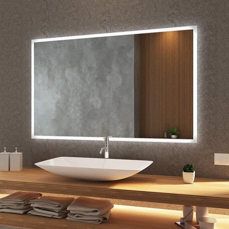 beleuchtete badspiegel günstig