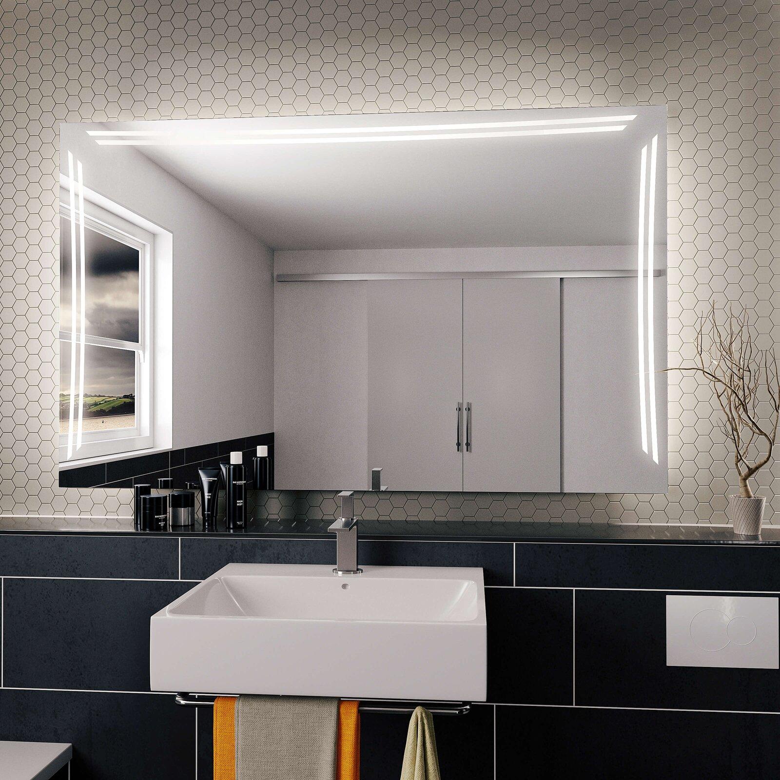 spiegell feng shui ts beleuchtet sofort lieferbar. Black Bedroom Furniture Sets. Home Design Ideas