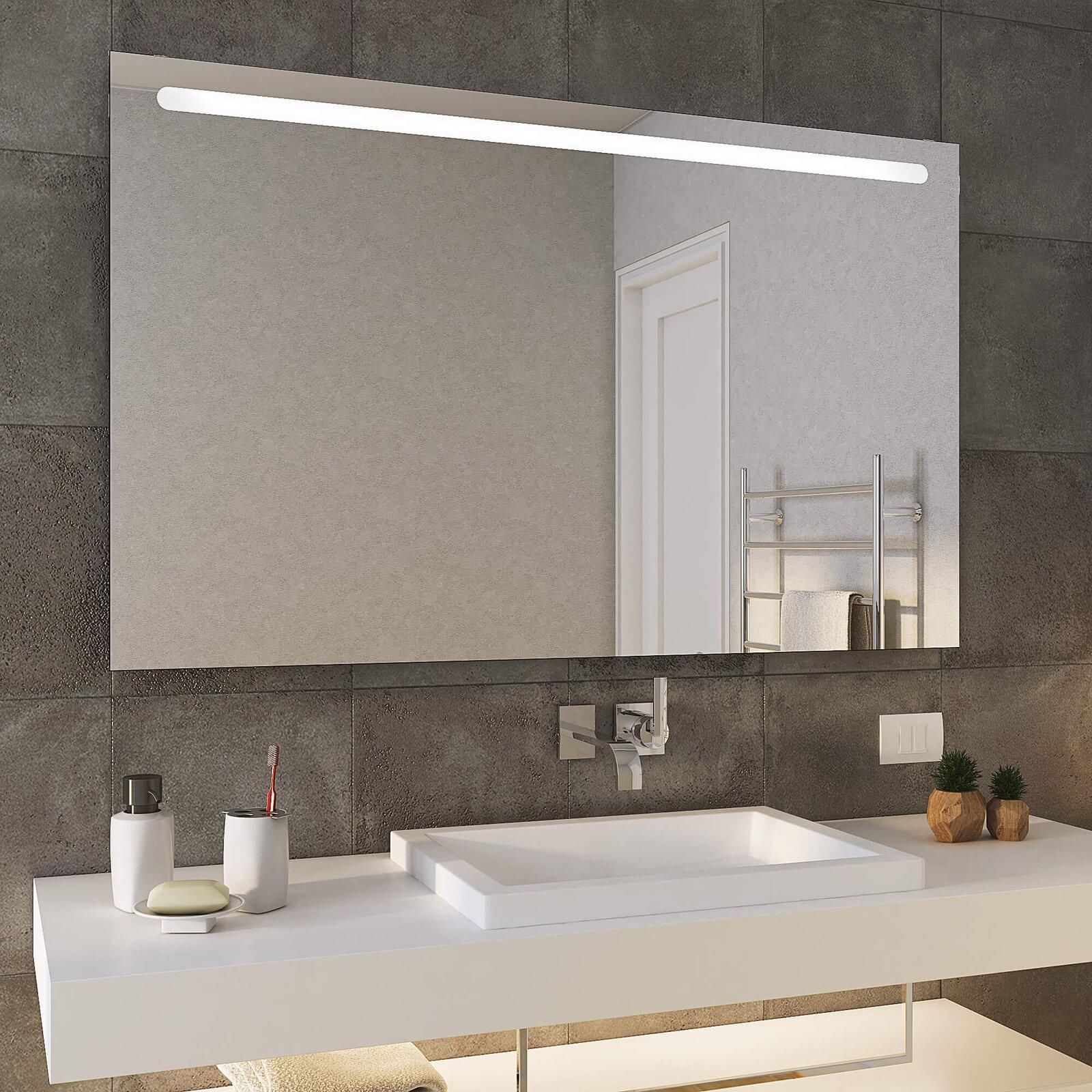 Badezimmerspiegel Mit Lampe.Badspiegel Mit Led Licht Bonn Top Sofort Lieferbar