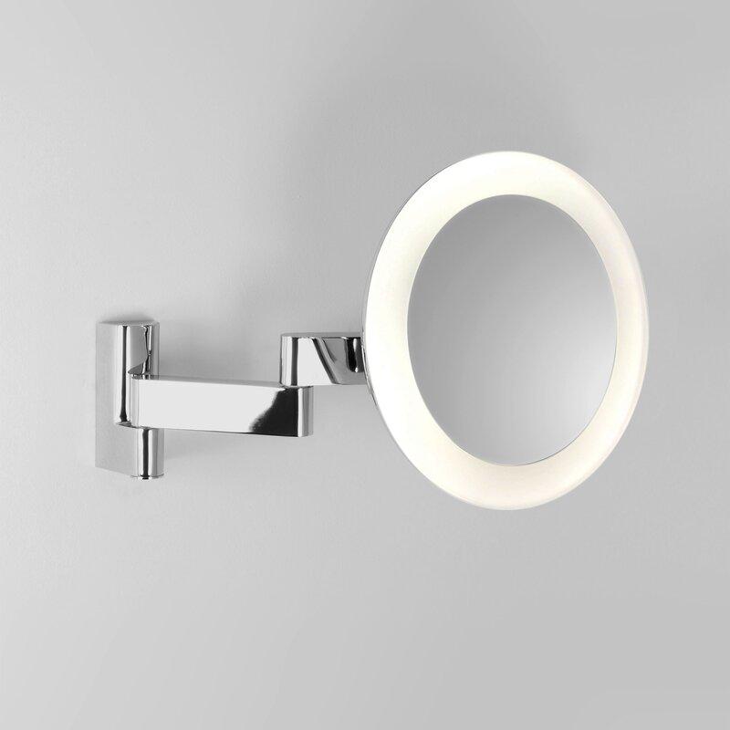 Sehr LED Kosmetikspiegel Niimi Round | Schminkspiegel 5fach CU16